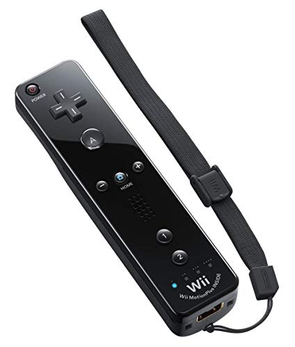 Nintendo Wii Remote Plus, Black (Renewed)