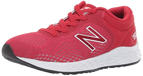 New Balance Kid's Fresh Foam Arishi V2 Bungee Running Shoe, Team Red, 5 M US Toddler