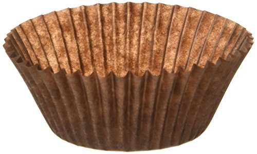Oasis Supply 100 Count Cupcake Liners Baking Cups, Standard, Brown