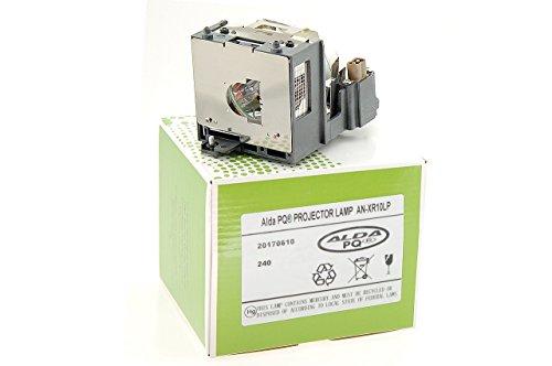 Alda PQ-Premium, Lampada proiettore per SHARP XR-10S Proiettori, lampada con modulo