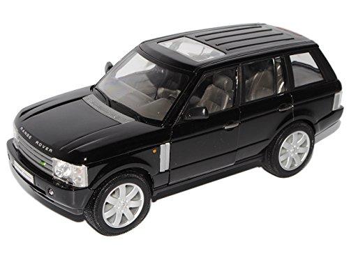 Welly Land Rover Range Rover MKIII SUV Schwarz 2002-2012 1/24 Modell Auto
