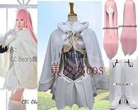 コスプレ衣装+ブーツ/靴 Fate/Grand Order女王メイヴ 風 +髪飾り+手袋+靴下付+マント 全セットウィッグ追加可