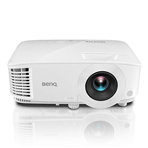 BenQ MS610 DLP Projector, SVGA, 4000 Lumens High Brightness, 20000:1 Contrast Ratio, Dual HDMI, VGA, Keystone Correction