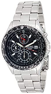 Seiko Unisex Analogue Quartz Watch with Stainless Steel Plated Bracelet – SND253P1 (B000M04V6W)   Amazon price tracker / tracking, Amazon price history charts, Amazon price watches, Amazon price drop alerts