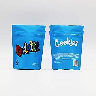 25PCS a Pack- 3.5 gram smell proof heat seal long time storge cookies mylar bag (3.5 GRAM GELATTI)