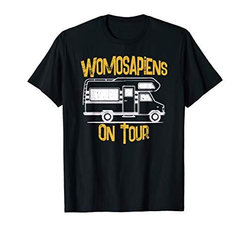 Wohnwagen Camping Mobil I Abenteuer Urlaub Geschenk T-Shirt