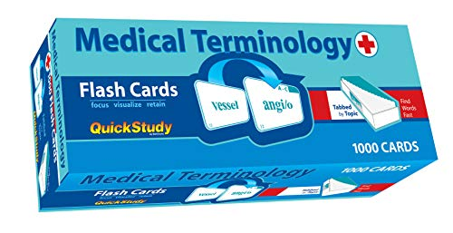 Compare Textbook Prices for Medical Terminology Flash Cards Academic 1 Edition ISBN 9781423203636 by BarCharts, Inc.