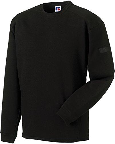 Russell Europe: Workwear Set-In Sweatshirt R-013M-0, Größe:XL;Farbe:Black