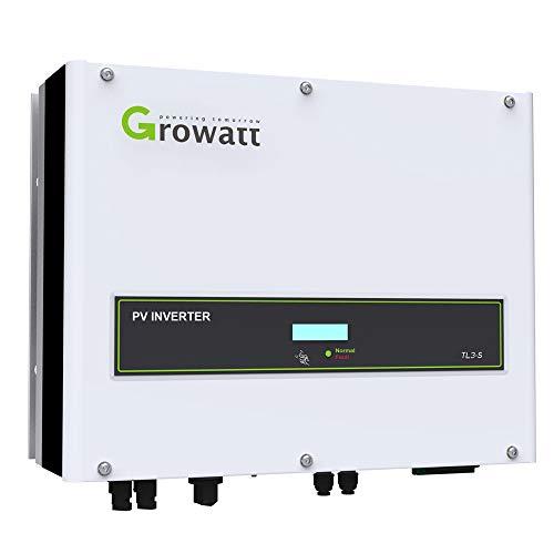 Inversor Solar 3 kW Trífasico - Conexión a Red 2 MPPT / 97,6% Eficiencia/Fácil Usar/Monitoreo Wifi