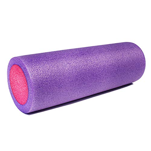 LHE 45cm Espuma Eje Aptitud Rodillo Espuma Cilindros Gomaespuma Músculo Relajación Masaje Terapia Masaje Muscular Fitness Pilates Yoga Mejor Herramienta Deportivo