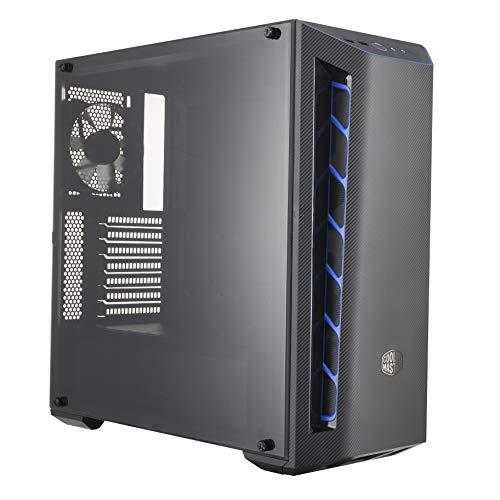 Cooler Master MasterBox MB510L-Case PC ATX Finitura in Fibra di Carbonio, Prese d'Aria, Pannello Laterale Trasparente…