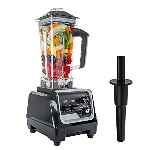 ARTETHYS Batidora de Vaso Licuadora Blender de 2000 W, Multifución con Celocidad ajustable, 2 L sin BPA, Más Resitente para Gazpacho, Fruta, Verdura.