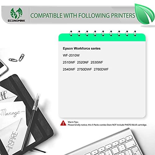 EconomInk Cartuchos de tinta de repuesto 16XL para Epson 16 XL compatibles con Epson workforce wf-2630wf wf-2750dwf wf-2660dwf wf-2010w wf-2510wf wf-2520nf wf-2530wf wf-2540wf wf-2650dwf (12Pack)