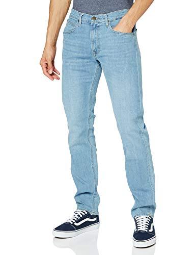 Lee Daren Zip Fly Jeans, Light Bluegrass, 46 IT (32W/34L) Uomo