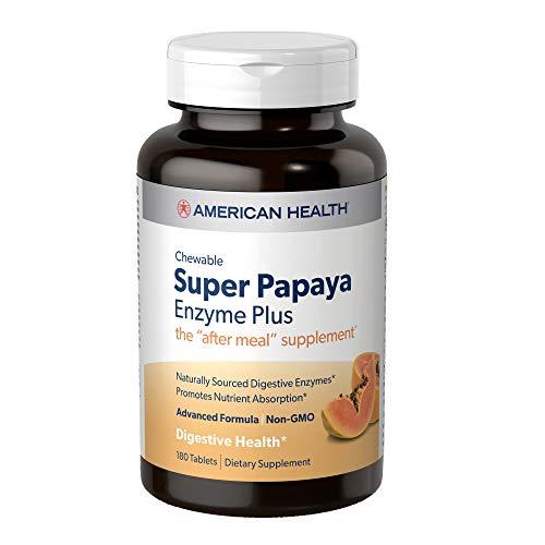 American Health Super Papaya Enzyme…