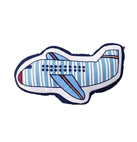 ABREEZE Airplane Shaped Pillow Decorative Pillows Bed Decor Little Girls Boys Toy