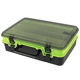 Boîte À Outils Boîte à outils multifonctions Double face Épaissie Grand Tackle Boîtes Hardware Petits pièces…