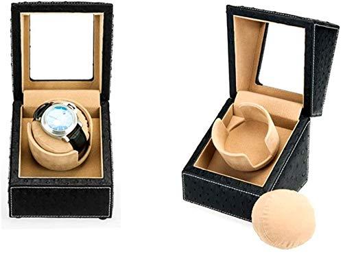 Automatic Watch Winder Box Automatischer Single Watch Winder mit leisem Mabuchi Motor-Z. Well