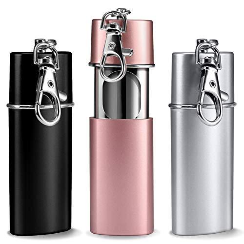 3 posacenere tascabile, antiodore, da viaggio, Yosemy, posacenere da viaggio, posacenere da viaggio