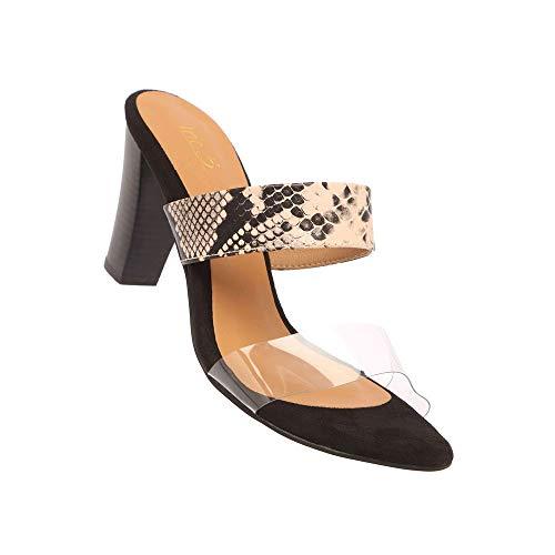 Inc.5 Womens Casual Wear Slipon Heels (Beige_8)
