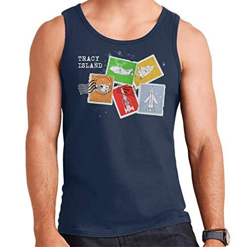Thunderbirds Vehicle Stamps Vest voor heren