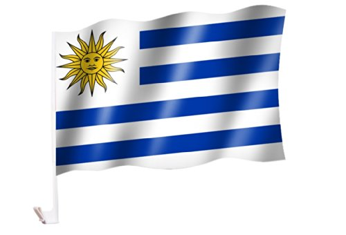 Autoflagge/Autofahne Uruguay