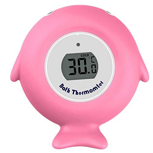 TOYANDONA Baby Wasserthermometer für Bad Baby Digital Bad Thermometer Badewanne Thermometer für Baby Badewanne Und Schwimmbad Rosa