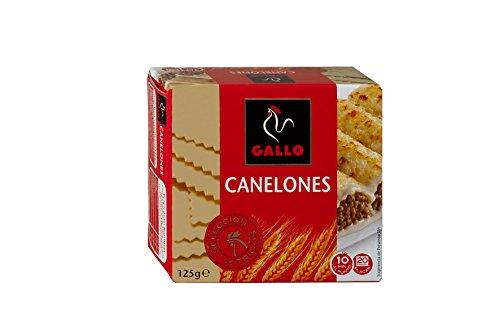 Pastas Gallo - Canelones Paquete 160 g