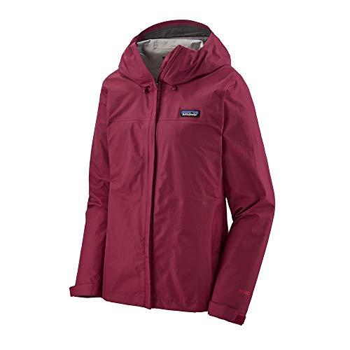 Patagonia W's Torrentshell 3l Jkt Jacke für Damen, A-Linie Mantel, 85245, Rot, 85245 XS
