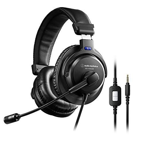 audio-technica ヘッドセット テレワーク/在宅勤務/実況 ブラック ATH-770XCOM