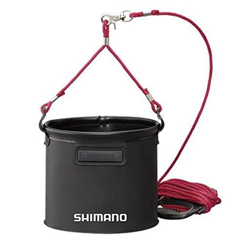 シマノ(SHIMANO) 水汲み バッカン BK-053Q ブラック 21cm