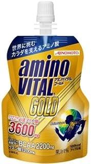 味の素アミノバイタルGOLDゼリードリンクパウチ123g×30個入【×2ケース:合計60個入】