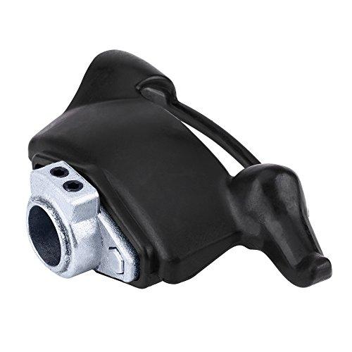 Desmontagomas, cabezal de desmontaje de plástico negro, para montaje de neumáticos, cabeza de pato, herramienta de 30 mm de diámetro