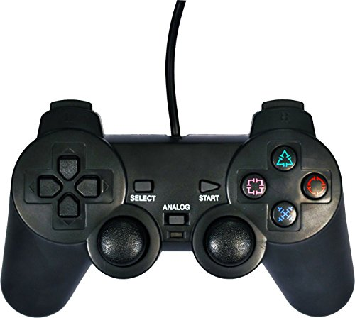 Playstation 3, Playstation 2, PC - Piranha wired Controller (kabelgebunden )