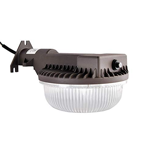 LED Yard Light 45 Watts Dusk to Dawn Photocell Included, 5000K Daylight, 5300 Lumens, Perfect Area Light or Barn Light, ETL Listed, 400W Incandescent or 130W HID Light Equivalent, 5-Year Warranty