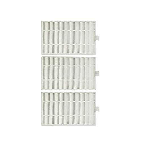 e-Bulk Pack Filtre Compatible Proscenic 800T / 820T / 830T / 820S Filtre HEPA (Lot de 3)