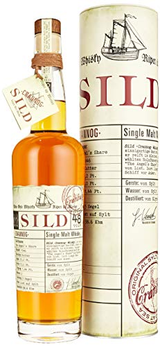 Sild Whisky CRANNOG Single Malt Whisky 2019, 0.7 l