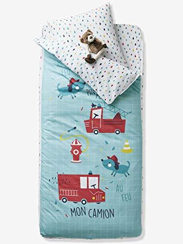 VERTBAUDET Listo para dormir con n/órdico ropa de cama 4 piezas Jungla Gris Estampado 89