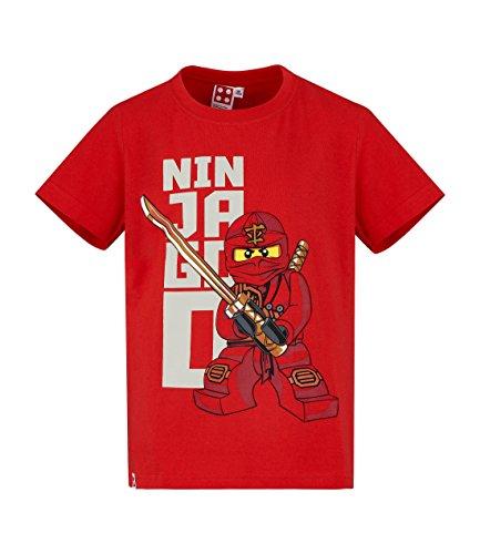 Lego Ninjago Jungen T-Shirt - Rot - 104