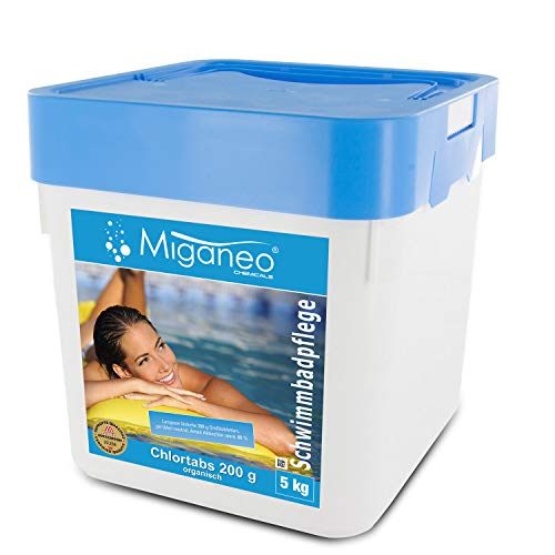 Miganeo® Chlortabs 200 g Poolchemie organisch, schnelllöslich (5 Kg)
