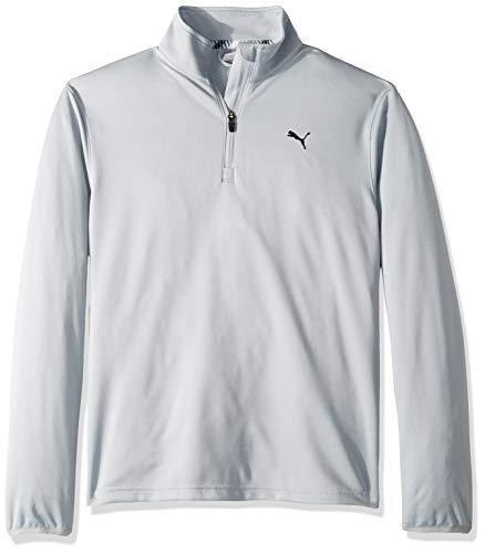 Puma Golf Boys 2019 1/4 Zip, Quarry, Large