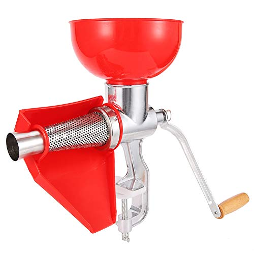 Exprimidor manual de aleación de aluminio, exprimidor de tomate, máquina exprimidora para masticar, para exprimir jugos de tomate, limón y naranja