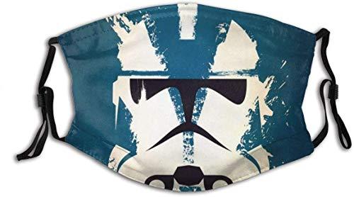 Protector facial de Star-Wars (11) Unisex lavable y reutilizable de algodón cálido protección facial para decoración facial al aire libre