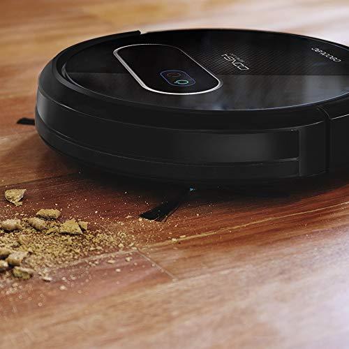 Cecotec Aspirateur Robot Conga Série 1190. 1400 Pa, Technologie iTech Gyro, Aspire, Balaie, Lave le sol et Passe la serpillère, 6 Modes, 160 min d'Autonomie, Programmable