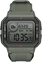 Amazfit Neo Fitness Retro Smartwatch with Real-Time Workout Tracking, Heart Rate and Sleep Monitoring, 28-Day Battery...