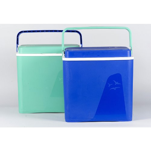 PLASTIME Krios Cool Box 25 L, Azul, Verde, Naranja, Extra Grande, Talla Única