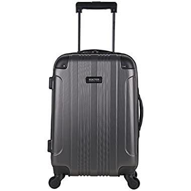 Kenneth Cole Reaction Out of Bounds 20  4 Wheel Upright, Charcoal, One Size
