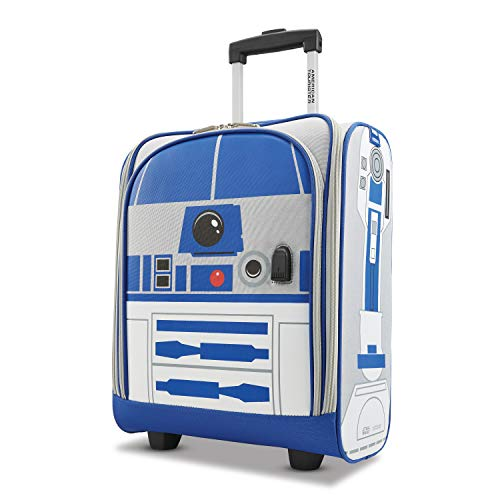 American Tourister Star Wars R2D2 16-inch Softside 2- Wheeled Underseat Luggage, Carry-On Luggage, One Piece