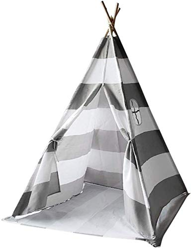 Wigwam Tent For Kids Teepee Cotton Children Tent Indian Play House Parent-child Play House Toy Princess Room,White