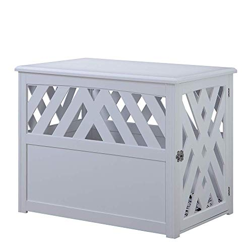 unipaws Wooden Pet Crate